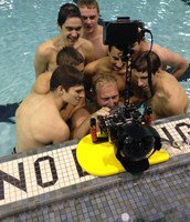 Seniors enjoying Gavin's artistic underwater camera work!
