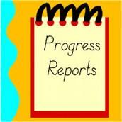 PROGRESS REPORTS – May 17th
