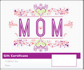 Printable Mother's Day Gift Certificates