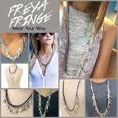 Freya Fringe Necklace