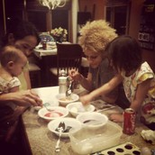Amber loves to spend time with her nieces and nephew