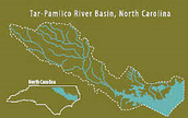 Where is the River Basin located in North Carolina?