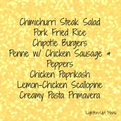 Lighten Up! Menu *NEW*