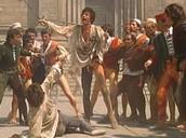 Romeo kills Tybalt