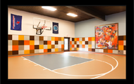 Indoor 1/2 Basketball Court