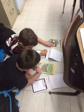 "Partner ""Reading Detectives"" in Mrs. Jones' Second Grade"
