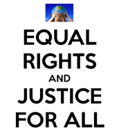 Equal Justice for all