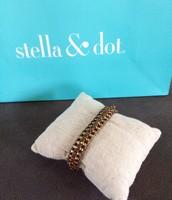 Ella Bracelet Gold - $15