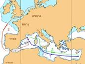 מסלול אוניית אקסודס