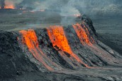 Volcanic eruption: Nyiragongo (Active Volcano)