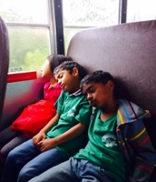 Exhausted after a great day!