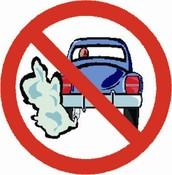 No cars, no pollution