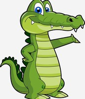 Our gator!