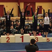 Cheyenne Ayotte finds success in gymnastics at state competition!