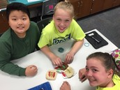 5th Grade Experimenting with How Fossils are Made!!1