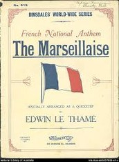 What is the history of La Marseillaise ?