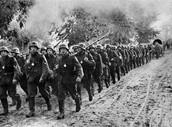 Infantry Preparing For Battle