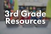 3rd Grade Digital Resources