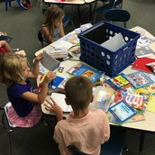 Students were having choice reading time!