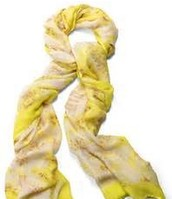 Palm Springs Scarf Citrine