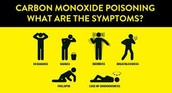 What are the symptoms of Carbon Monoxide?