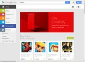 Google Play Layout