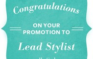 Congrats to all of our new LEAD STYLISTS!!!