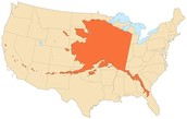 We told you Alaska is twice the size of Texas!!!