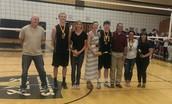 Boys' Volleyball Senior Night