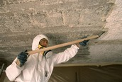 Workers Removing Asbestos