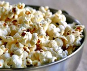 Yummy Popcorn and Snacks