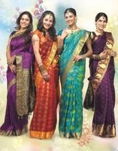E-shopping for silk sarees