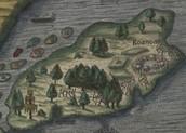The begining of Roanoke Island