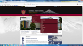 Hawera High School Website