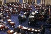 The senate floor