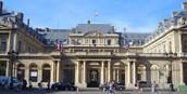 Front of Palais Royal
