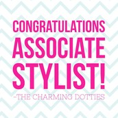 Look who PROMOTED to ASSOCIATE STYLIST