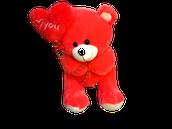 Medium Bear With Heart Balloon