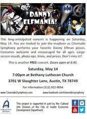 CINEMATIC SYMPHONY FREE CONCERT - COSTUMES WELCOME