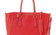 Madison Tech Tote in Poppy - $158