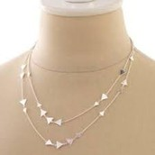 ALEXIA NECKLACE - SILVER $22 (55% off)