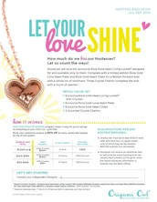 Host your own Jewelry Bar to get your shopping done for FREE. Origami Owl has an awesome hostess rewards program and you can earn up to 25% of sales in free product, half-price items and unique Hostess Exclusives!