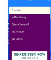 2. Click on Re-Register Now