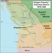 1827 UK and US jointly occupy Oregon