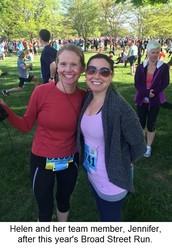 JURISolutions' Helen Heenan to participate in the Philadelphia Marathon