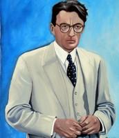 painting of attiticus