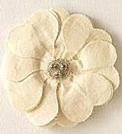 Bardot Flower Brooch/Hair Clip