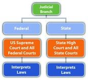 Learning Objective 10.3:Explain the organization of the federal court system