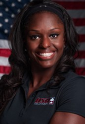 Push Athlete on the US Women's Bobsled Team