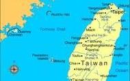 La Carte  De Taiwan